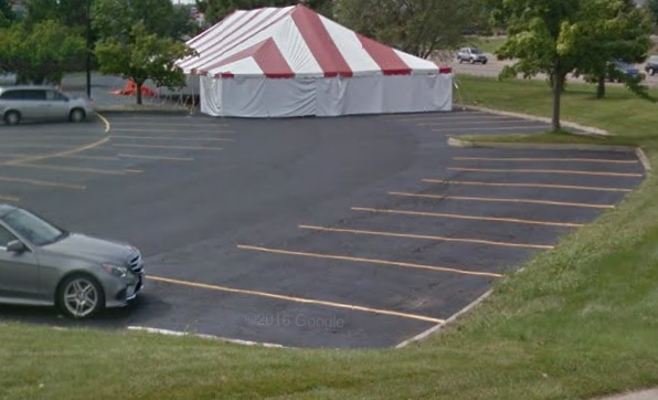 This normal sealcoating job was a cinch! Perdue Pavement Solutions